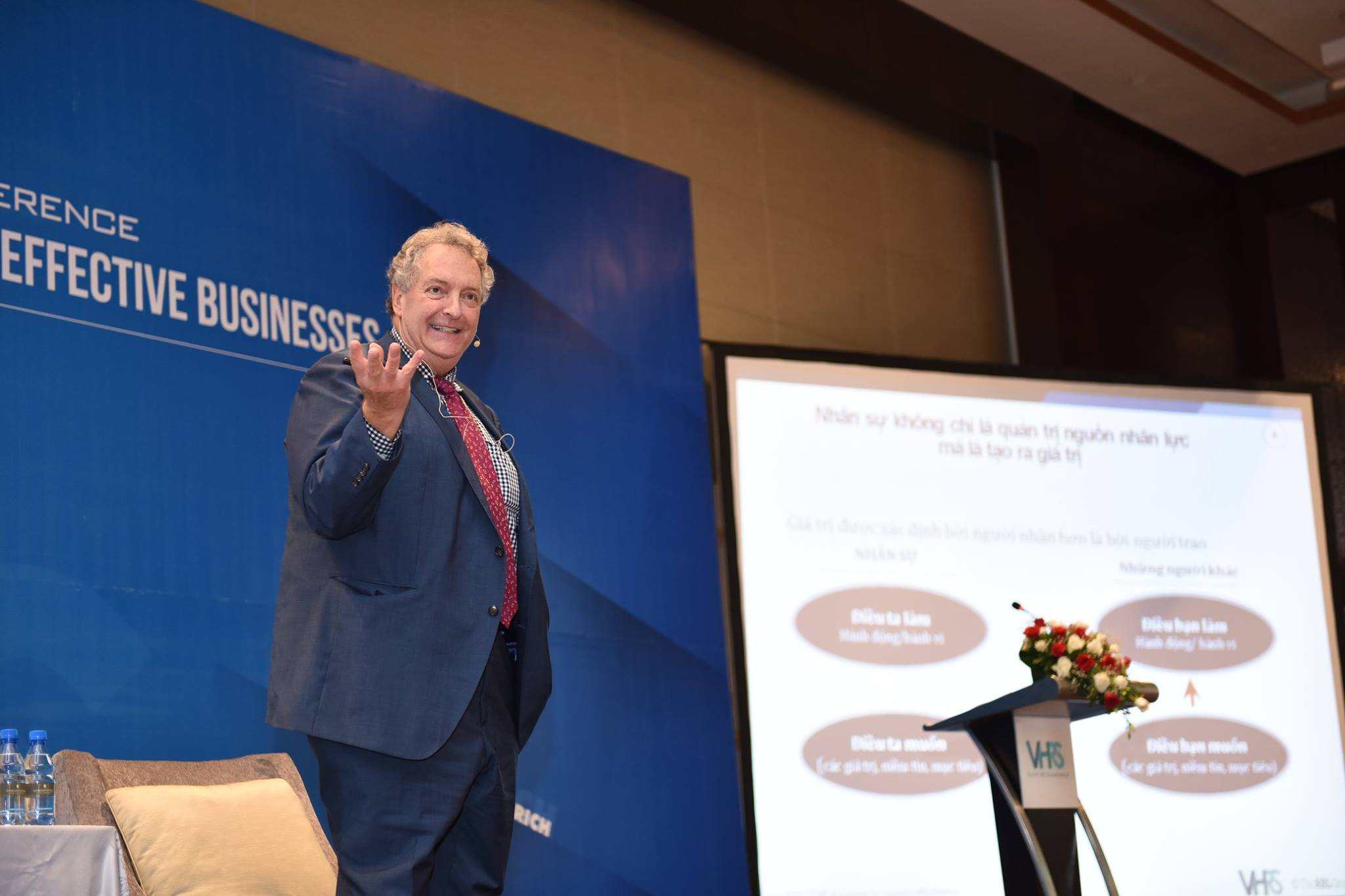 VHRS successfully held an Leadership and HR conference with the lecture by Prof. Dave Ulrich in Vietnam