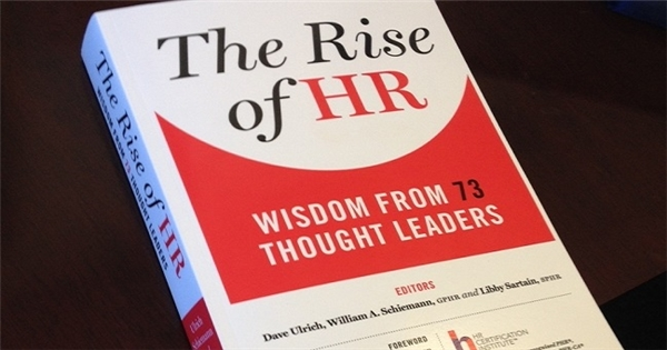 """Giới thiệu sách """"The Rise of HR: Wisdom from 73 Thought Leaders"""""""